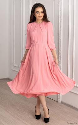 Vestidos Rosados Largos