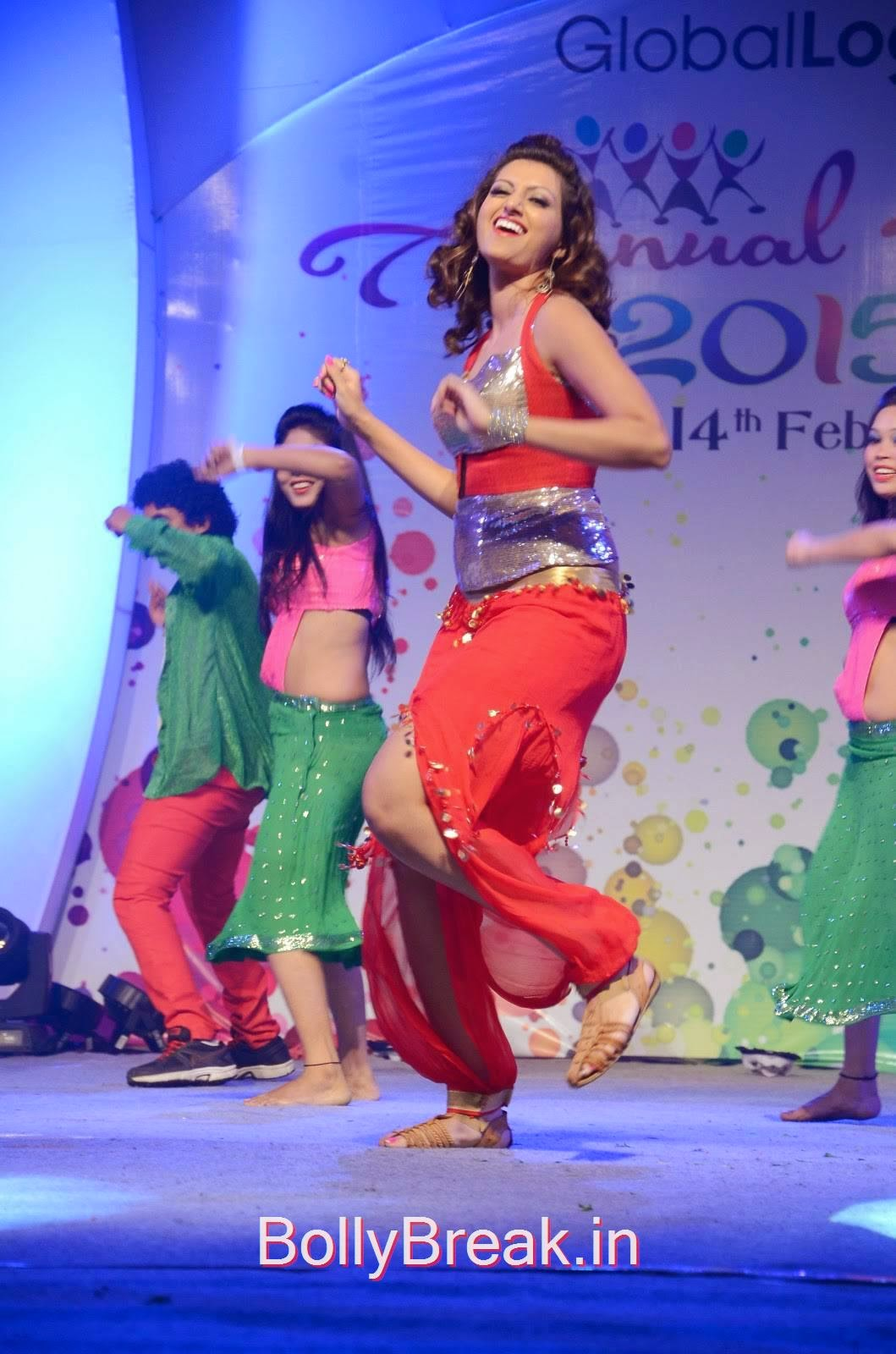 Hamsa Nandini Pics, Hamsa Nandini Hot Pics While Dancing in Red and Silver Dress