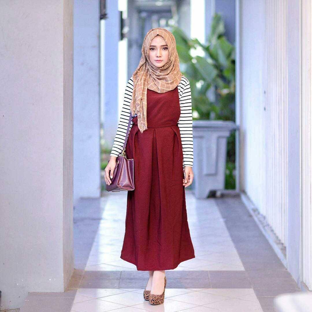 7 Style Baju  Hijab Simple yang Stylish dan Modis untuk Remaja