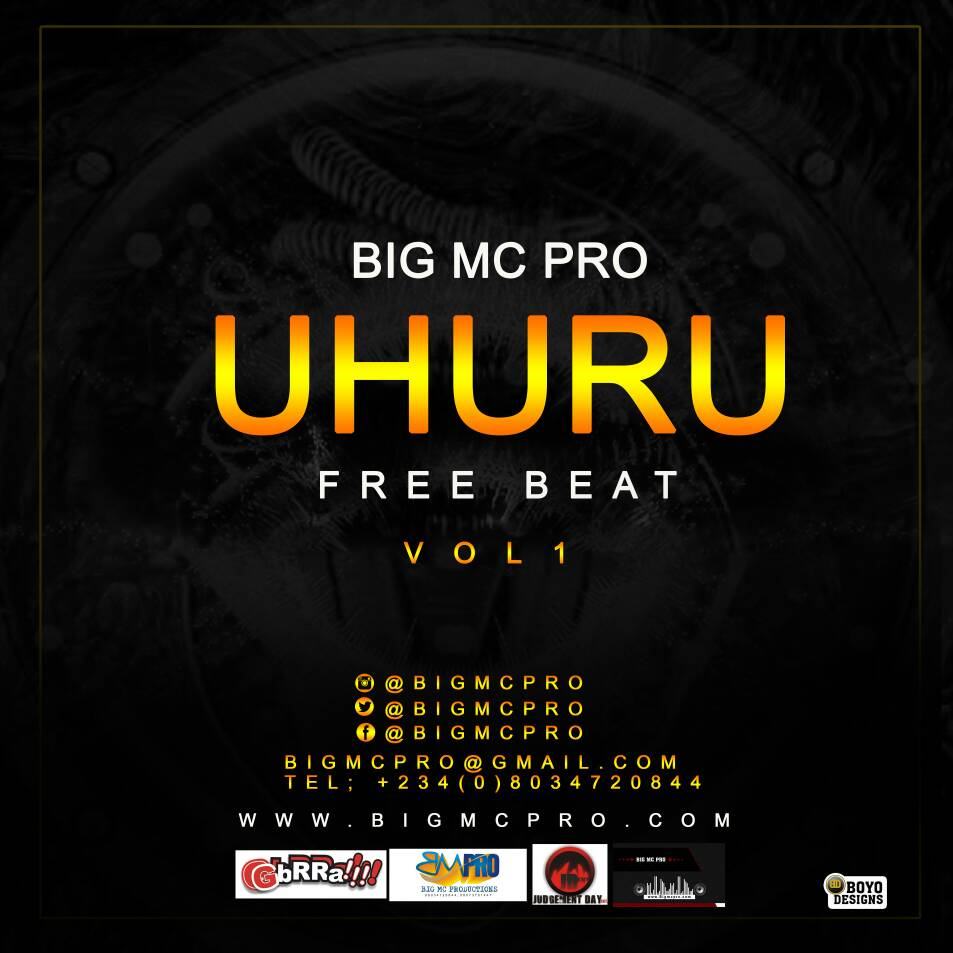 Freebeat : Uhuru [Prod By  @Bigmcpro] | Traphicana [   Everyday Life   ]