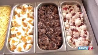 Natural peach ice-cream making Kodaikanal special | Sutralam Suvaikalam