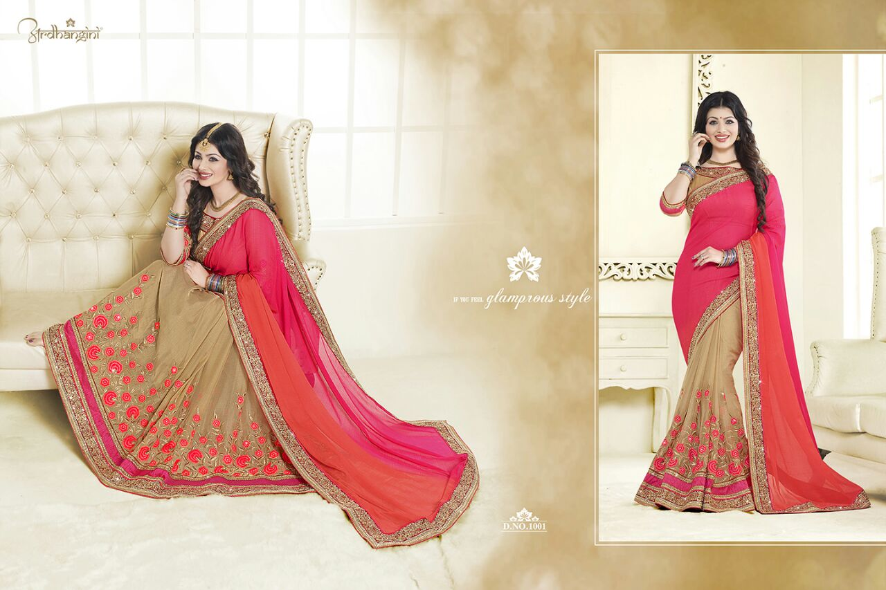 Ardhangini – Heavy Fashionable And Exclusive Designer Saree