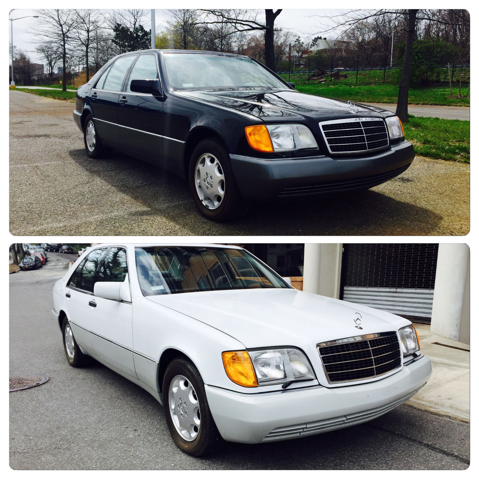 Pair Of Unused Mercedes-Benz S-Class W140s Up For Sale For