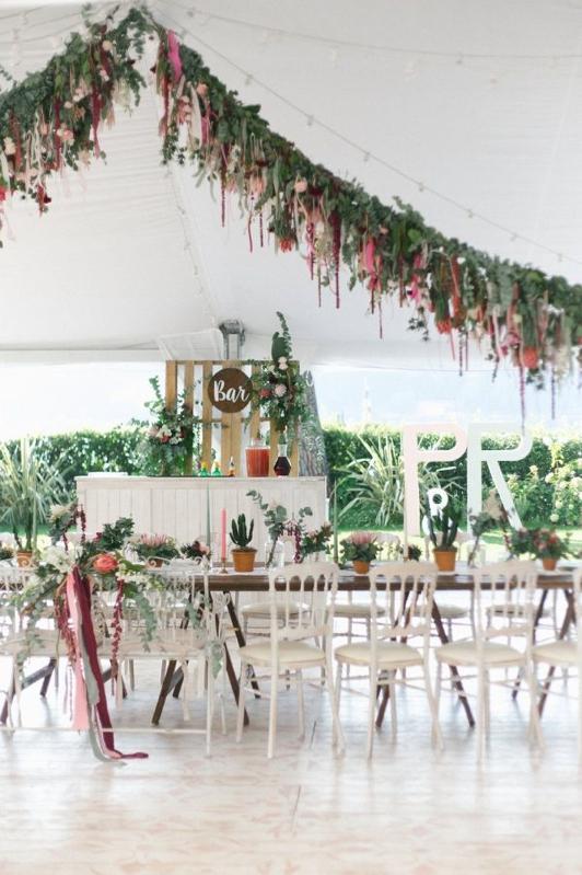 La boda de las flores en el Lago Como en LOVE, LOVE by Chic & Decó