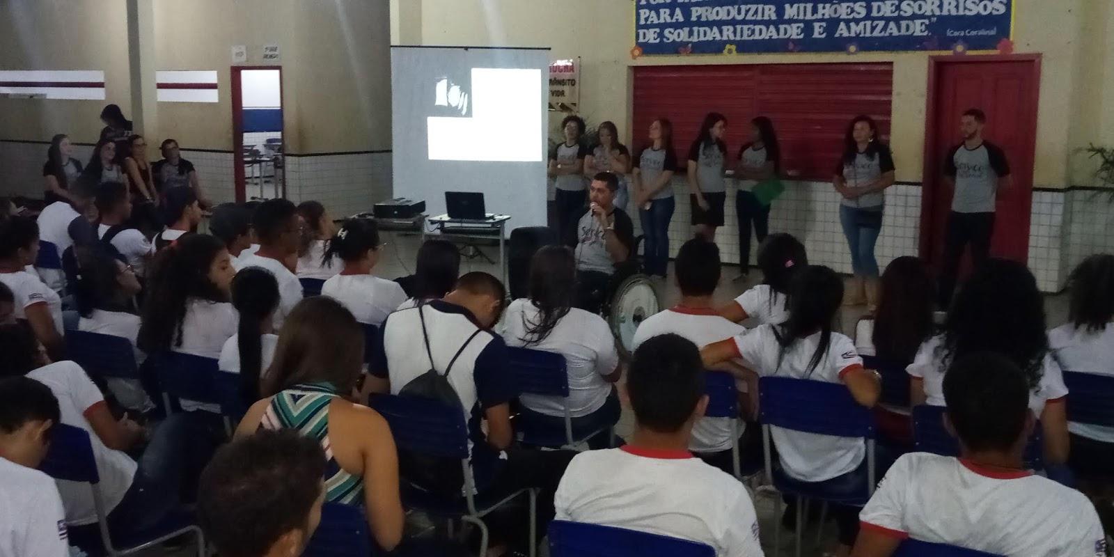 Curso de Serviço Social da UNICENTRO promove palestra sobre prevenção ao  uso de drogas para alunos da Escola Professor Galeno Brandes 51522a75d2