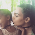 Kim K and daughter North step out in matching braids