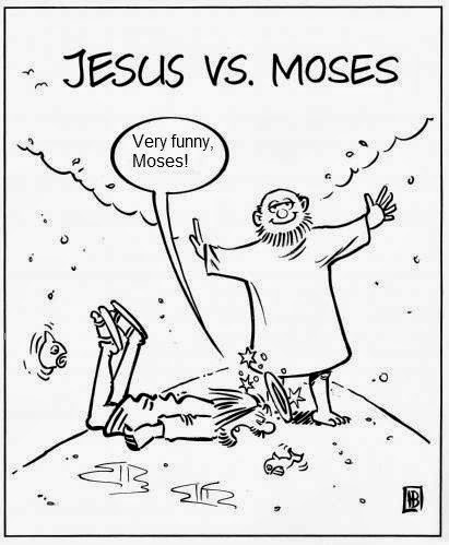 Funny Moses Cartoon Pictures ~ Irreligious Funny Religion