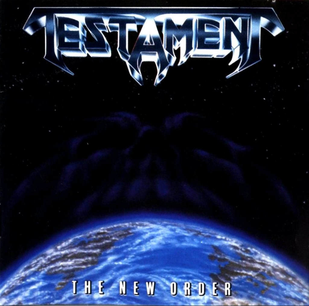TESTAMENT - The New Order CD 1988 (Metallica/Megadeth ...