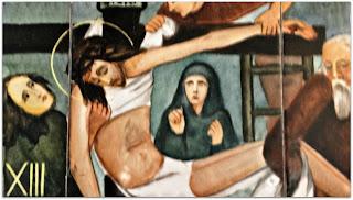 Via Sacra 13 'Jesus é Descido da Cruz', na Capilla Hotel de Villavicencio