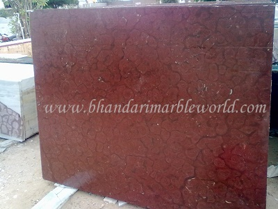 MARBLE IN KISHANGARH: OMAN RED