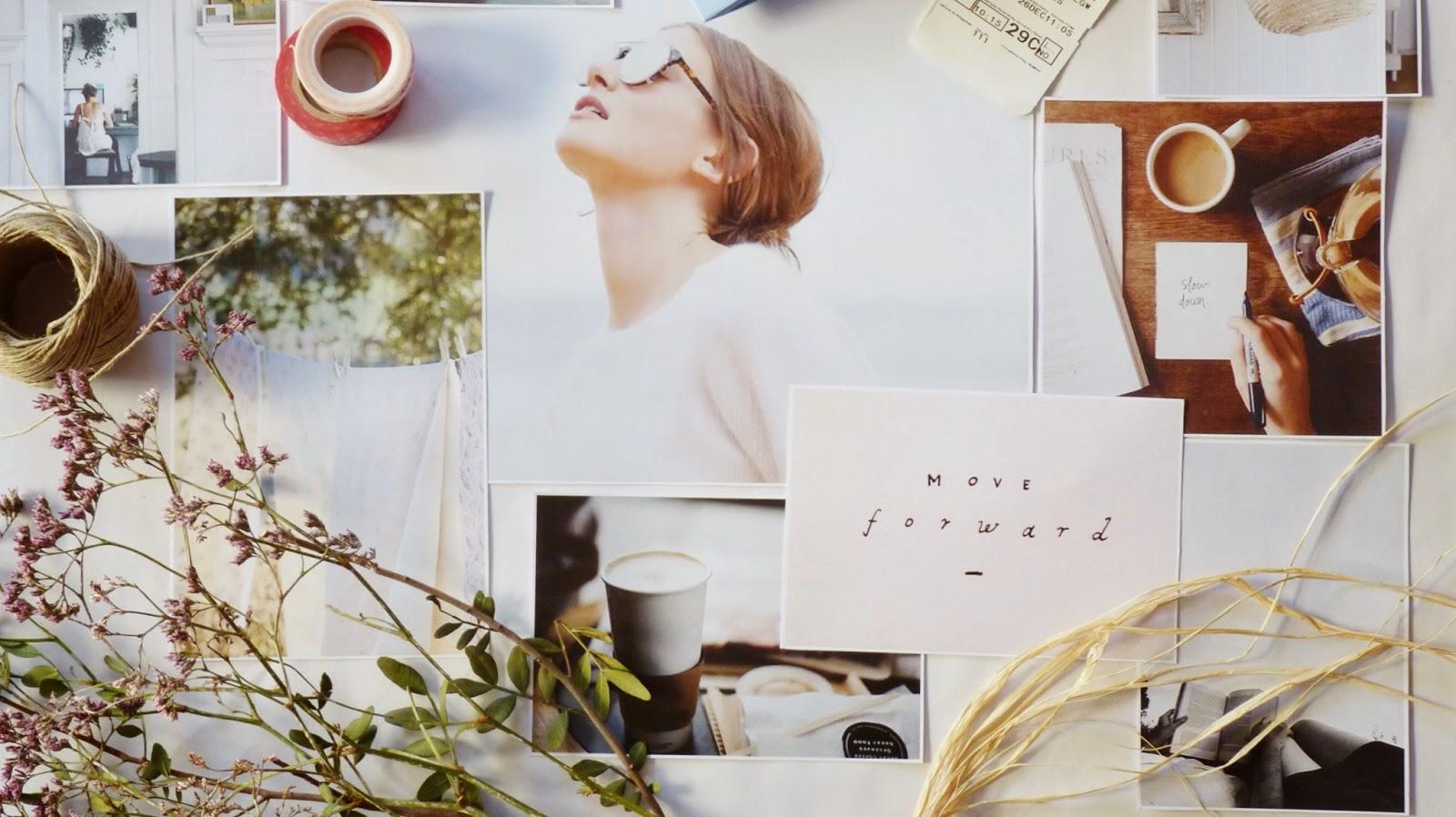 moodboard hello!blogging