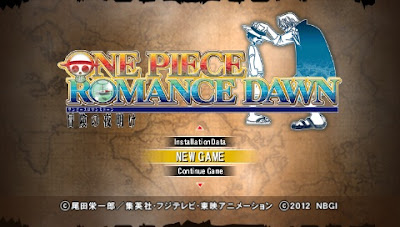 One Piece: Romance Dawn ISO PSP Android High Compress (English Version)