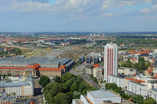 Estación de tren de Leipzig
