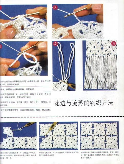Conectar Flores de Crochet Tutorial