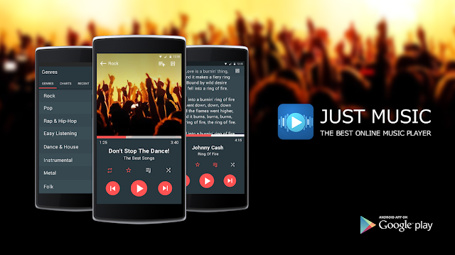 Free Download Just Music Player Pro 5 61 Cracked APK