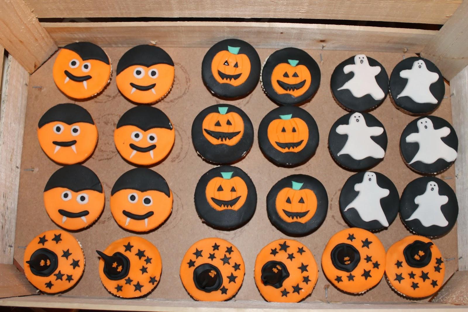 Halloween Figuurtjes Maken.Halloween Cupcakes Ellenismyname
