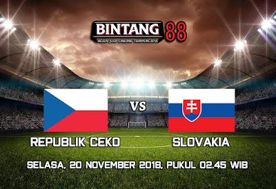 Prediksi Bola Republik Ceko vs Slovakia 20 November 2018