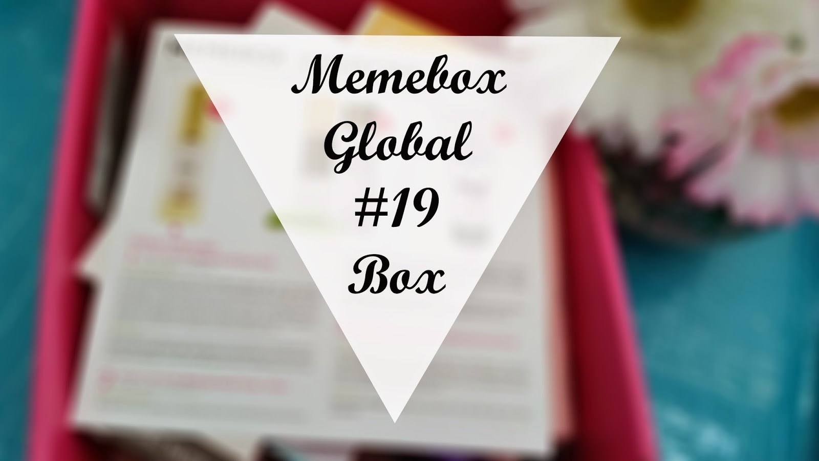 Unboxing: Memebox January Box