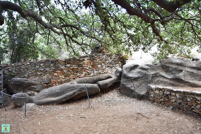 Kouros de Flerio en Melanes, isla de Naxos (Grecia)