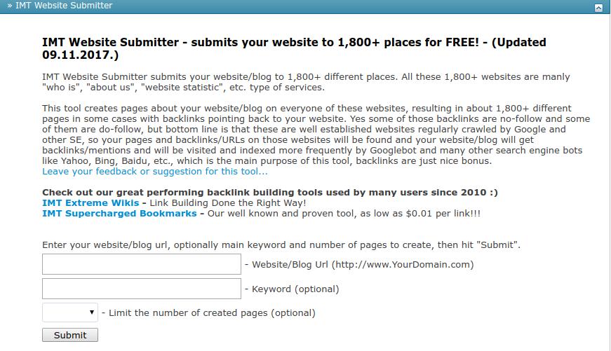 Cara Submit Blog Ke Ribuan Situs Dengan Mudah