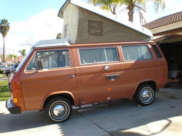 used rvs vw vanagon westfalia camper van for sale by owner. Black Bedroom Furniture Sets. Home Design Ideas