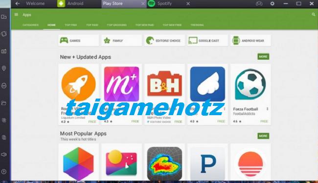 Tải BlueStacks 1 ,2, 3 - Phần mềm giả lập Android trên PC tốt nhất 7