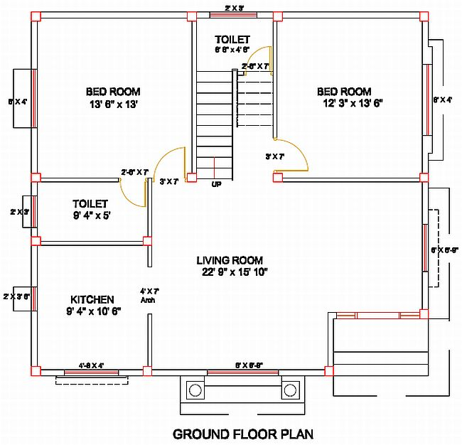 83 Column Layout Design For Residence And Simple