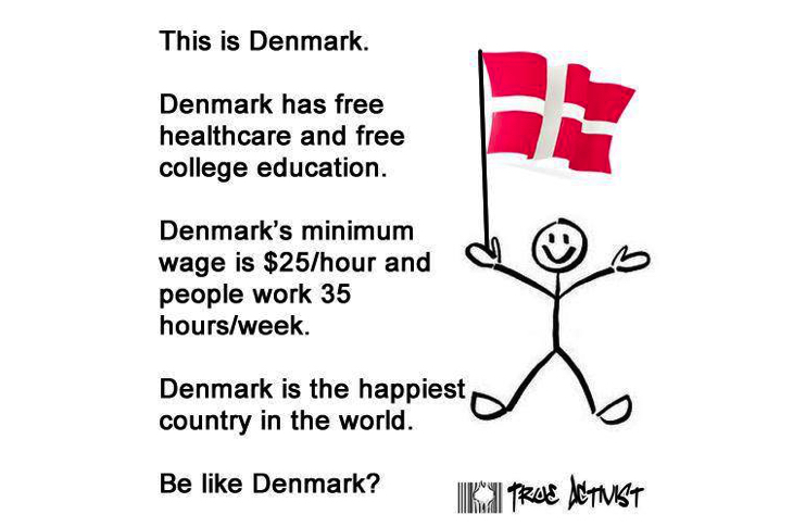 Viral Meme Crowns Denmark As Best Country, But Denmark Has Some Secrets