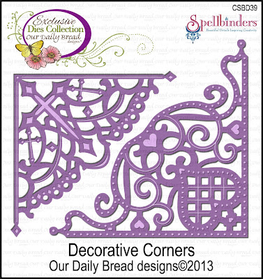Our Daily Bread Designs Custom Decorative Corners Die