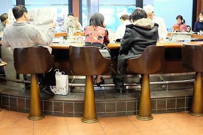 京都の喫茶店 INODA COFFEE(イノダコーヒ)三条支店 内装・インテリア