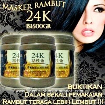 Masker Rambut Emas 24K Hair Mask