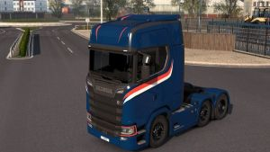 High Roof Simple Skin for Scania S