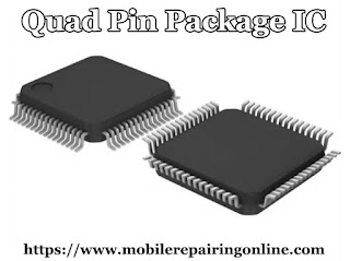 "A QFP or Quad Flat Package is a surface-mounted integrated circuit with ""gull wing"""