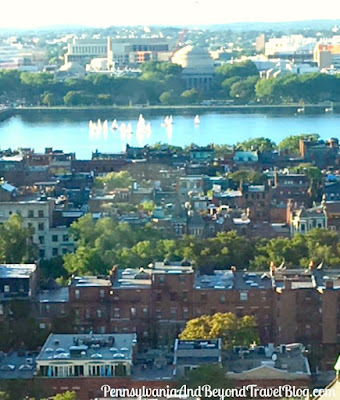 The Charles River in Boston Massachusetts