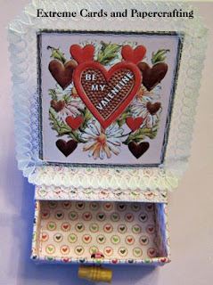 front of matchbox slider pop up card