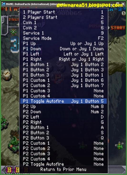 Setting Autofire Pada Mame - Download Game PS1 PSP Roms ...