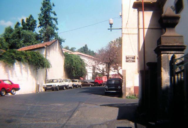 old photo: the corner near Santa Clara Convent