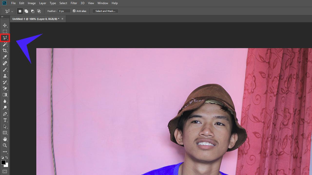 Cara Membuat Pas Foto Dengan Adobe Photoshop
