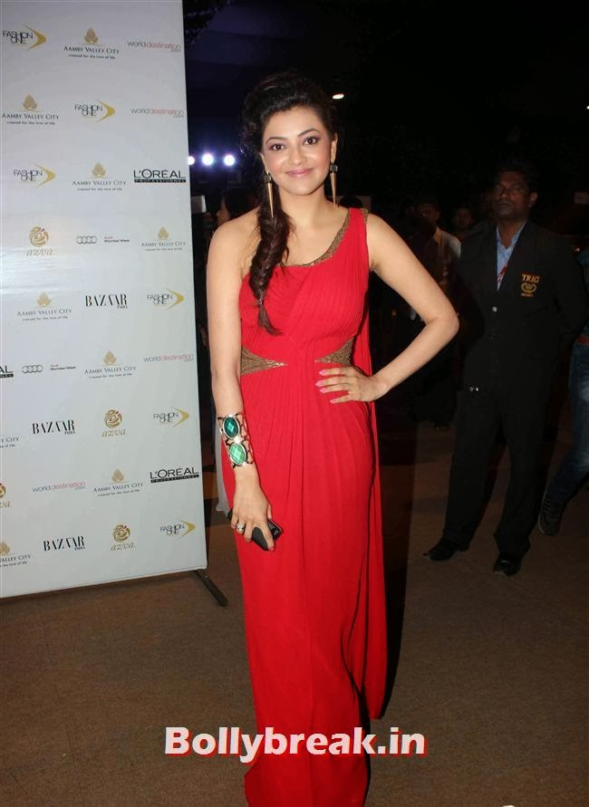 Kajal Agarwal, Bollywood Celebs at India Bridal Fashion Week