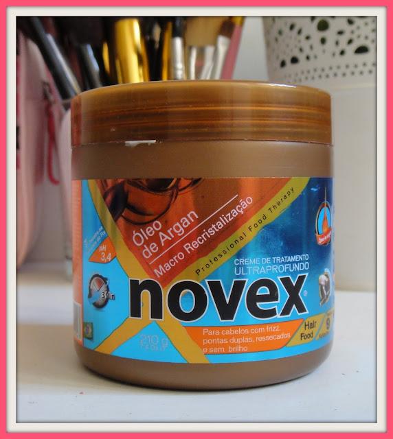 fb4a9f21e7b O que diz a marca  Máscara Novex com óleo de Argan da Embelleze é composto  por Óleo de Argan