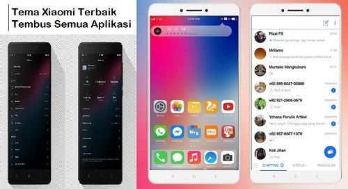 10 Tema Xiaomi Terbaik Tembus Semua Aplikasi Terbaru 2019
