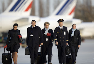 EQUIPE NAVIGUANT AIR FRANCE