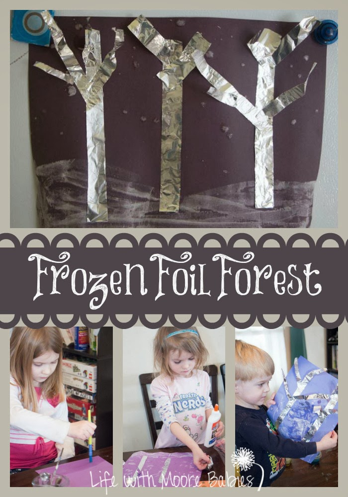 Frozen Foil Forest Bringing Poetry to Life