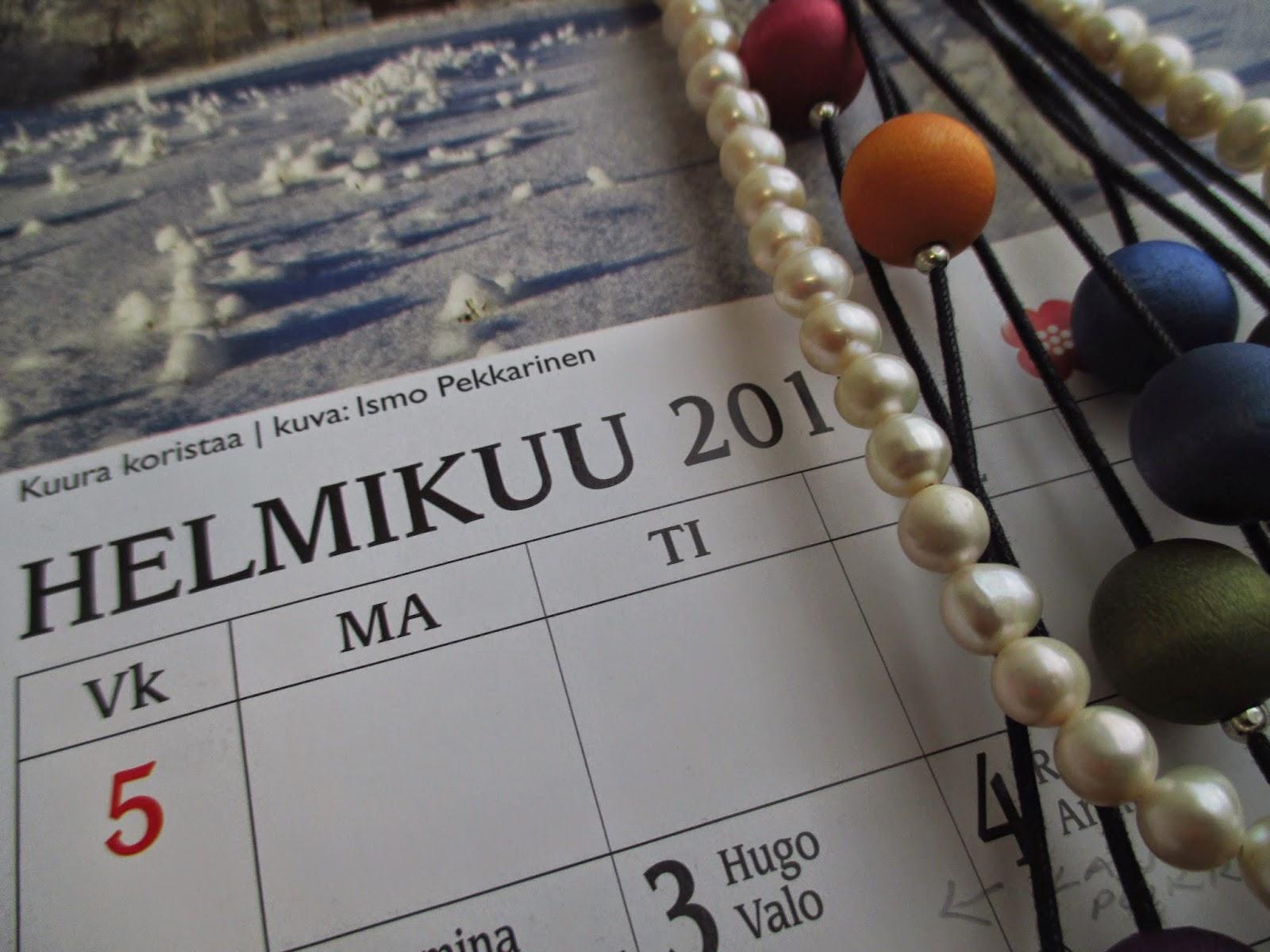 helmikuu, kalenteri, makro