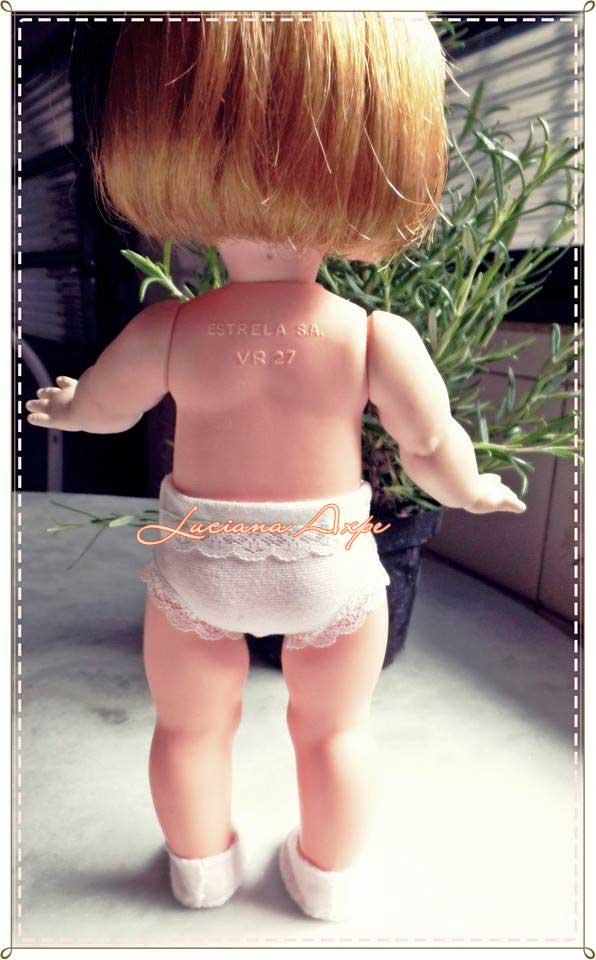 boneca ternurinha de costas