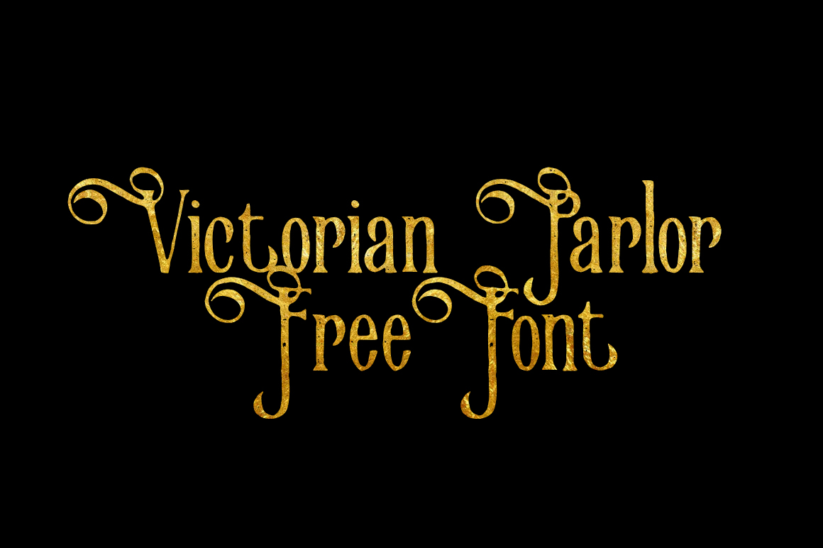DLOLLEYS HELP: Victorian Parlor Free Font
