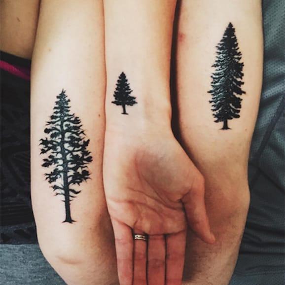 Christmas Tree Tattoo Ideas.15 Best Inspiring Christmas Tattoo Designs Art Magazine