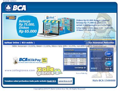 Cara Regristrasi Internet Banking BCA via ATM Terbaru 2016