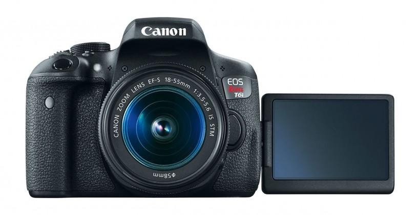 Cámara Canon EOS Rebel T6s