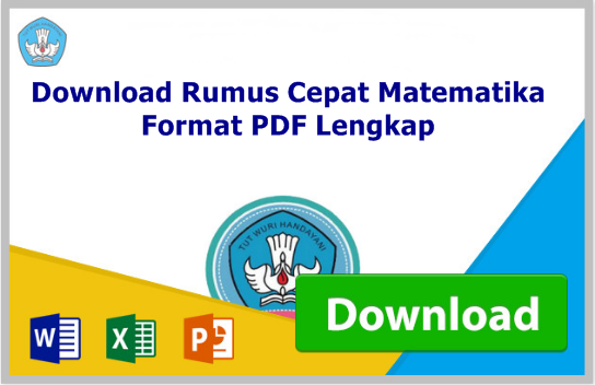 Download Rumus Cepat Matematika Format PDF Lengkap